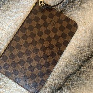 Authentic GM neverfull pouch Louis Vuitton